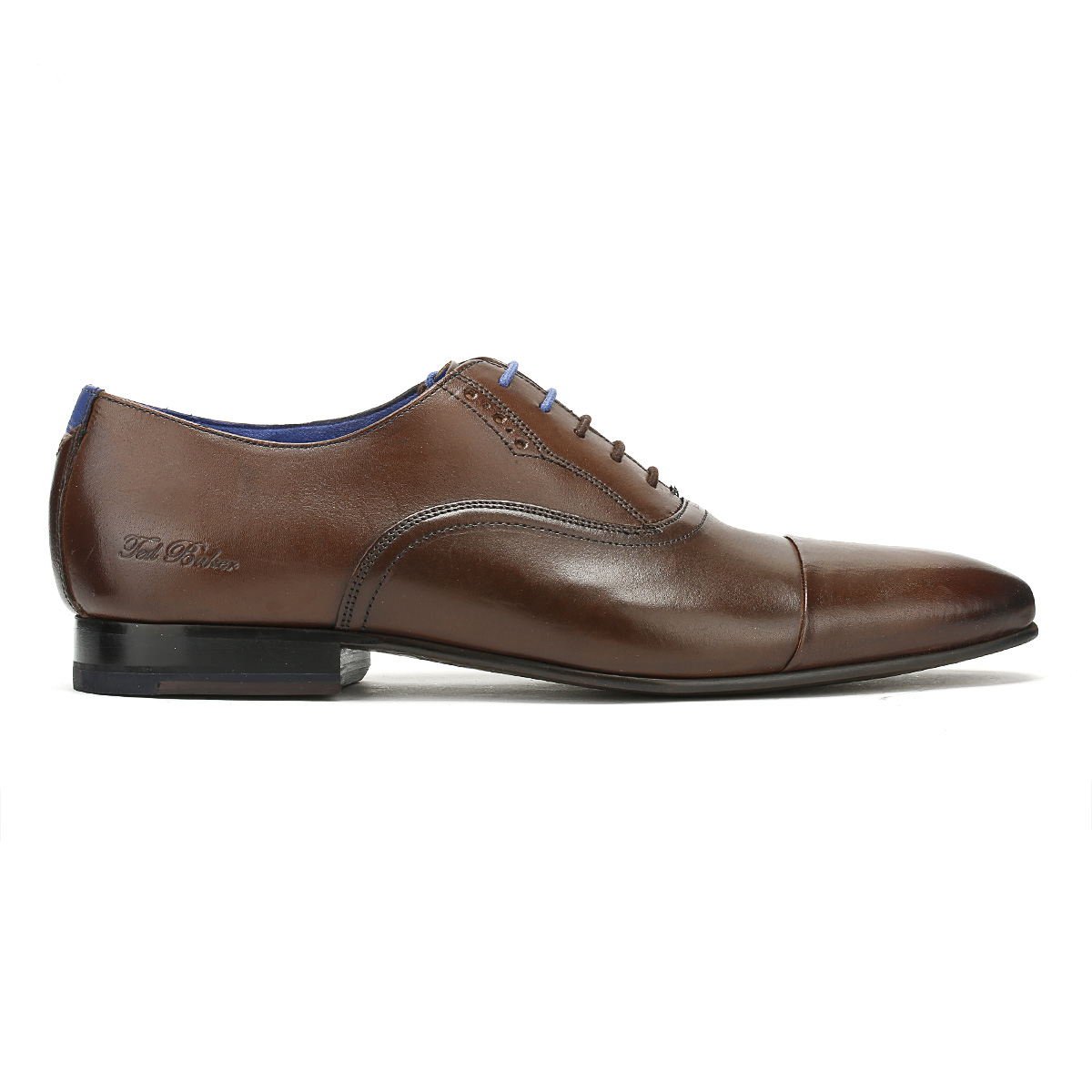 Ted Baker  Uomo Formal Lace Schuhes Braun Leder Murain Lace Formal Up Smarts 2535a1