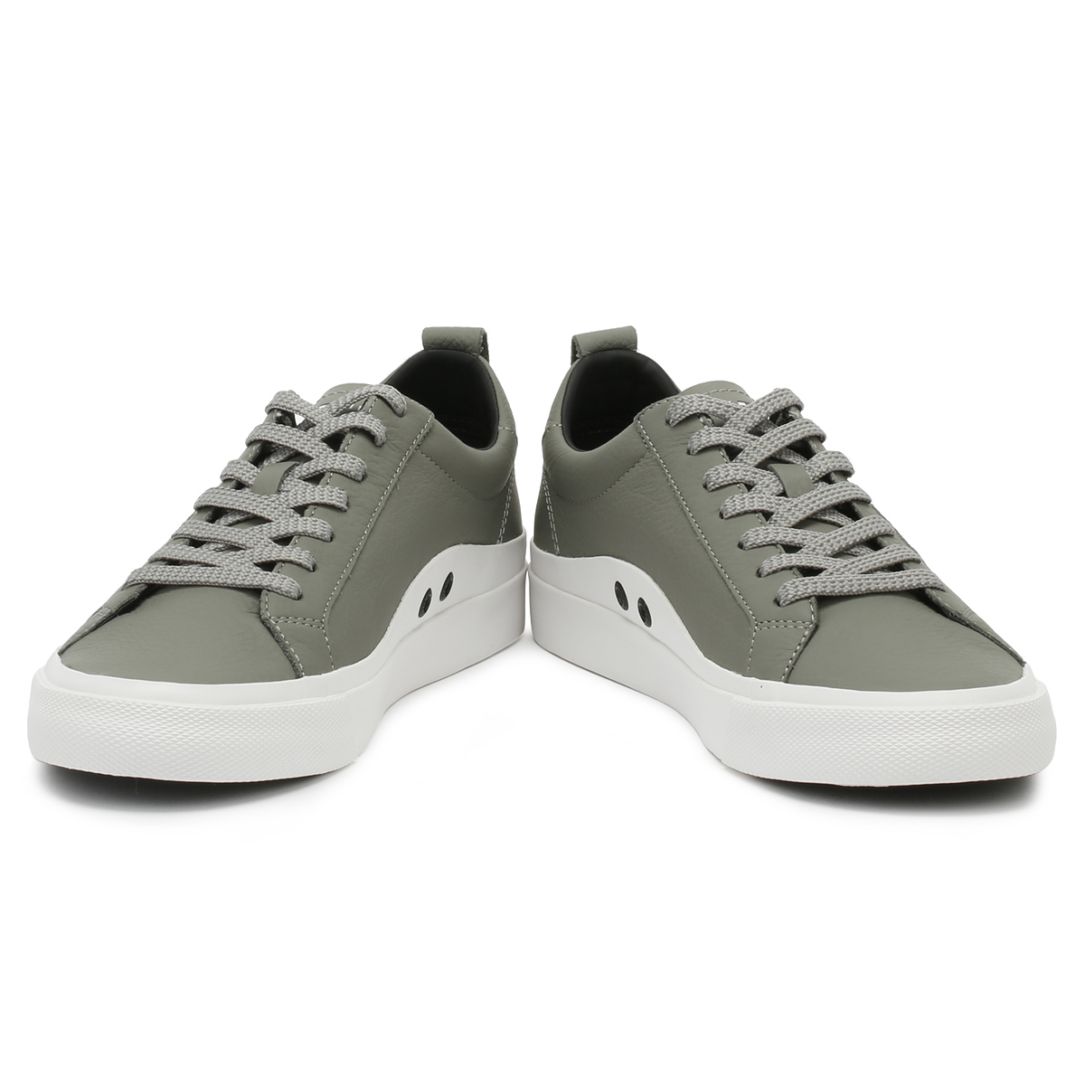 Tommy Hilfiger Mens Trainers Light Grey Flag Detail Sport Casual ... a677ad24bf8