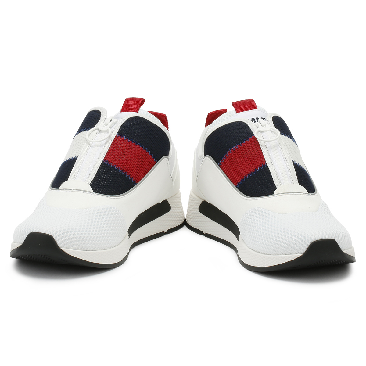 ca8e614f Tommy Hilfiger Mens Trainers White Icon Sport Flexi Sport Casual Shoes
