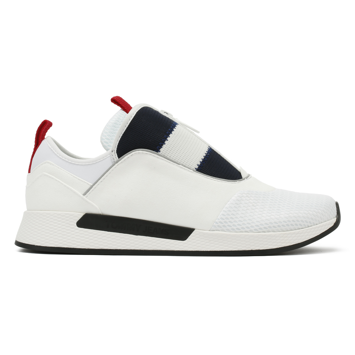 7d09e6955bd6a2 Tommy Hilfiger Mens Trainers White Icon Sport Flexi Sport Casual Shoes