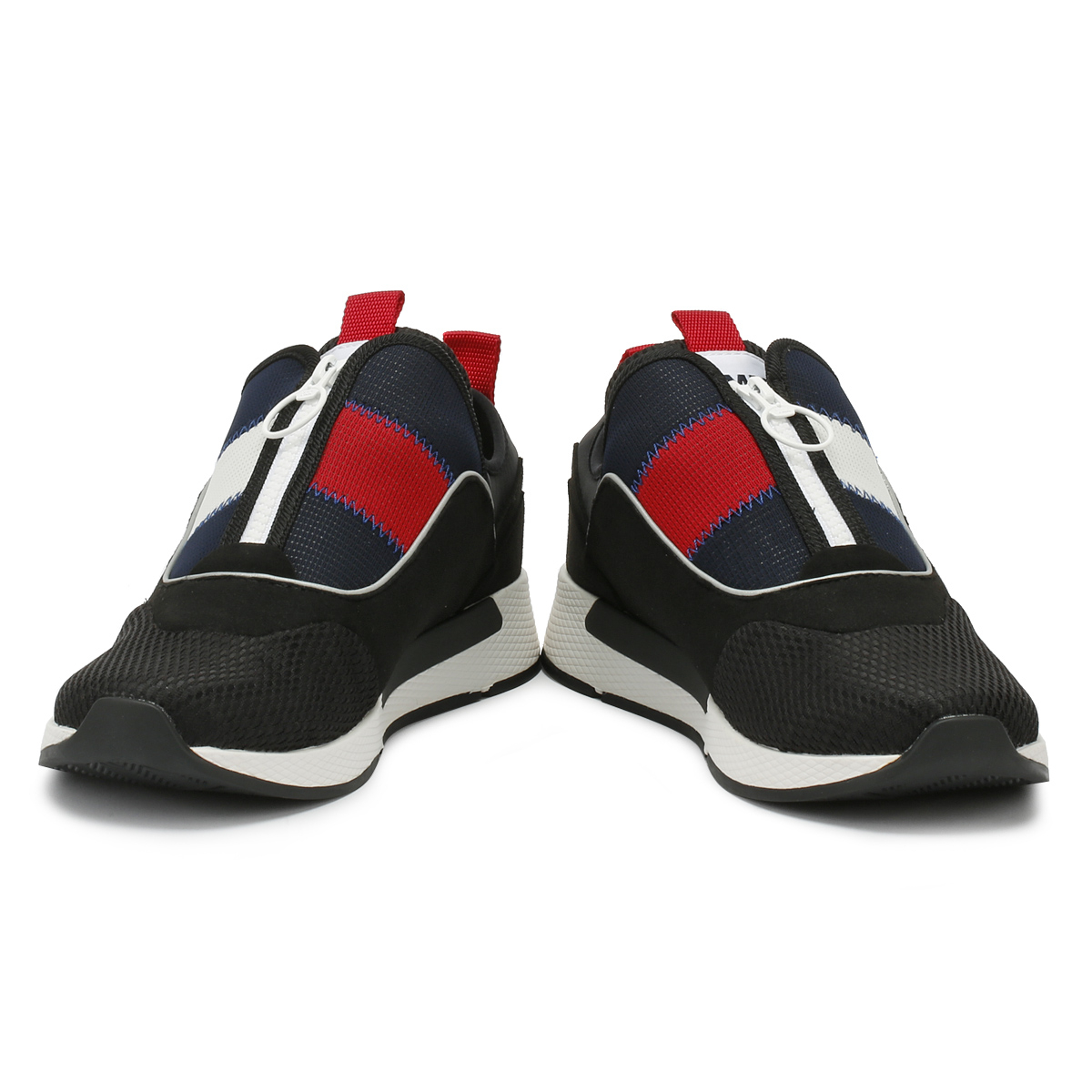 981cb771 Tommy Hilfiger Mens Trainers Black Icon Sport Flexi Sport Casual Shoes