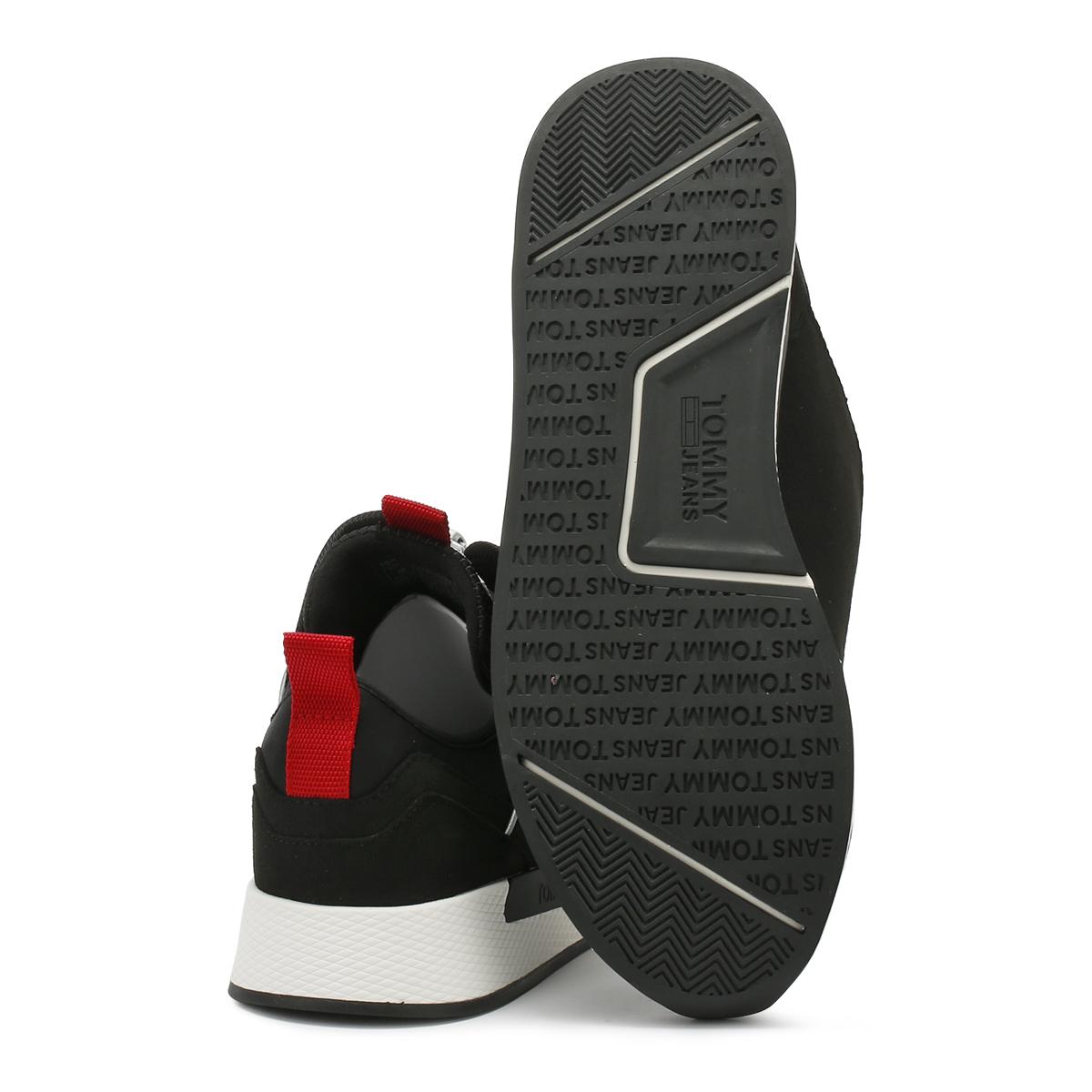 2c257e99b2b80f Tommy Hilfiger Mens Trainers Black Icon Sport Flexi Sport Casual Shoes