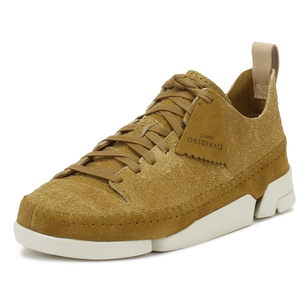 Clarks Womens Trainers Oak Trigenic Flex Lace Up Suede Sport Casual shoes