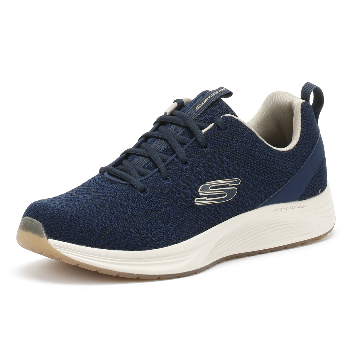Skechers  Sport Uomo Trainers Navy Blau Skyline Lace Up Sport  Casual Running Schuhes b2b07f