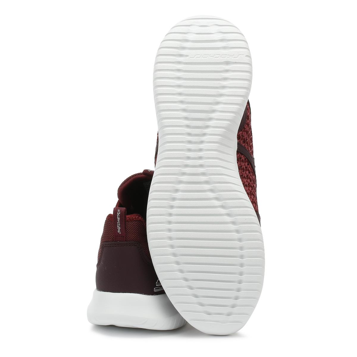 Skechers Damenschuhe Trainers Burgundy Casual Ultra Flex New Deal Sport Casual Burgundy Schuhes e5811a