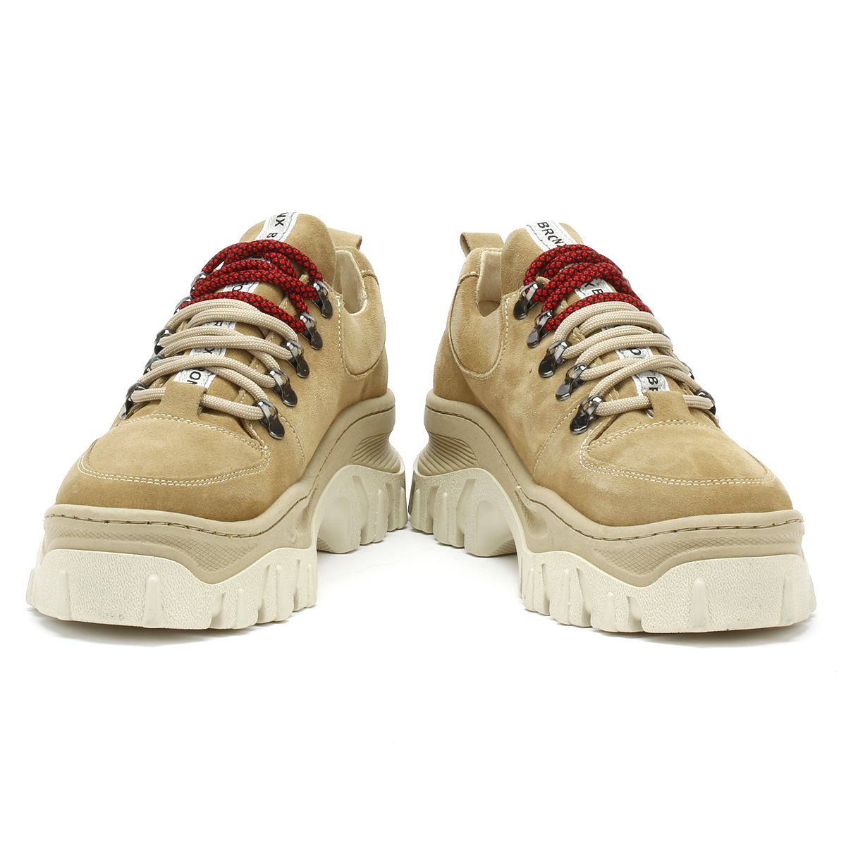 Up Bronx Womens Trainers Tan Jaxstar Lace Cappuccino Chunky Sport eCxBod