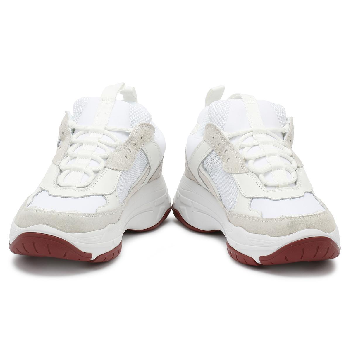 Detalles acerca de Jean De Hombre Entrenadores Calvin Klein Blanco Zapatos deportivos informales Marvin Grueso mostrar título original