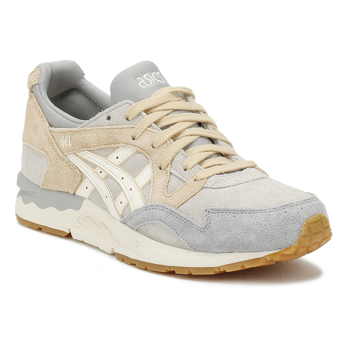 ASICS   Herren Glacier Grau Gel-Lyte V Trainers Trainers Trainers Lightweight Casual Schuhes Lace Up d0371f