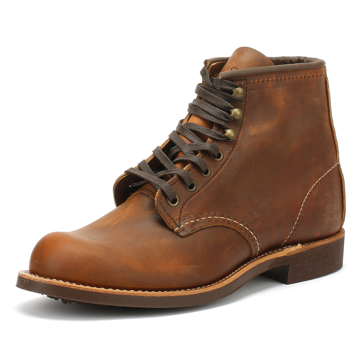 Red Wing Shoes Blacksmith Brown Copper Mens Boots Casual