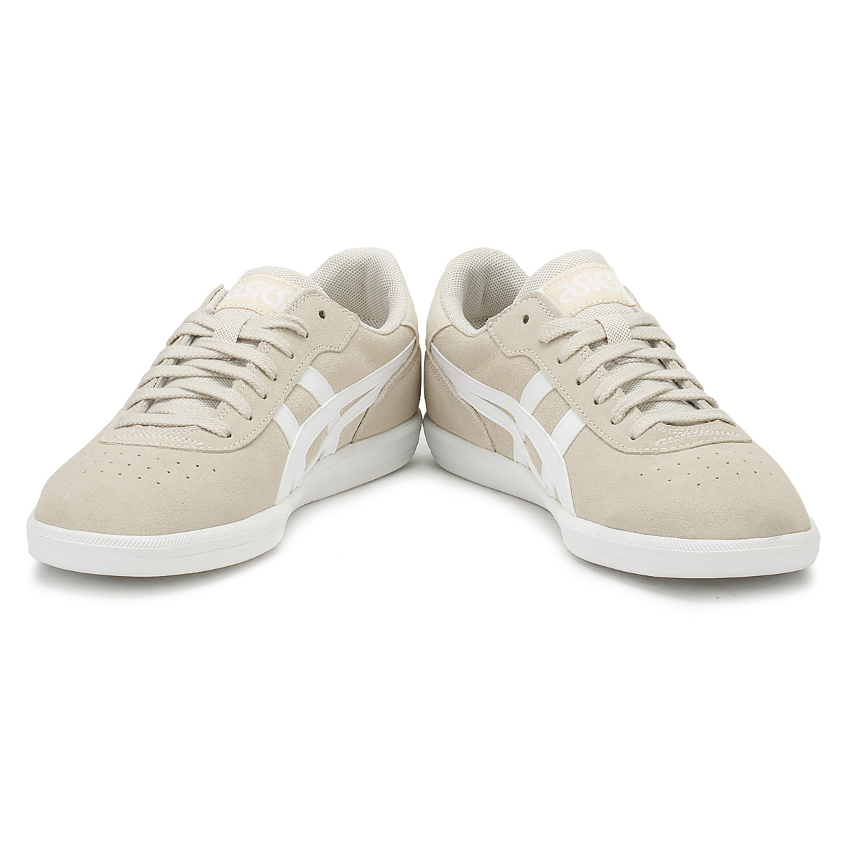 ASICS  Uomo Birch Beige Precussor Casual TRS Trainers Lace Up Casual Precussor Classic Schuhes 47ffa2