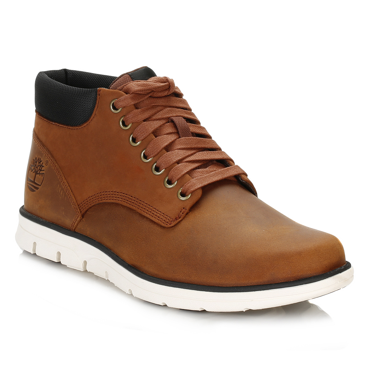 TIMBERLAND Bradstreet Leather Lace-Up High Top Trainers clearance store for sale MfQd8X