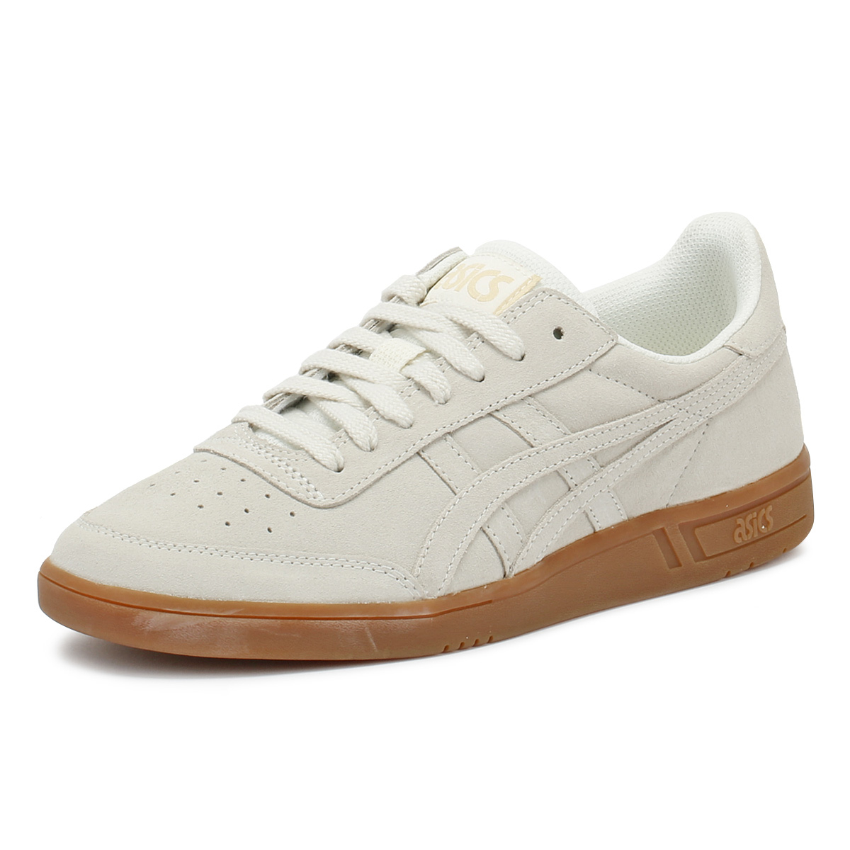 Details about ASICS Gel-Vickka TRS Cream Grey Suede Womens Trainers Lace Up  Sport Casual Shoes