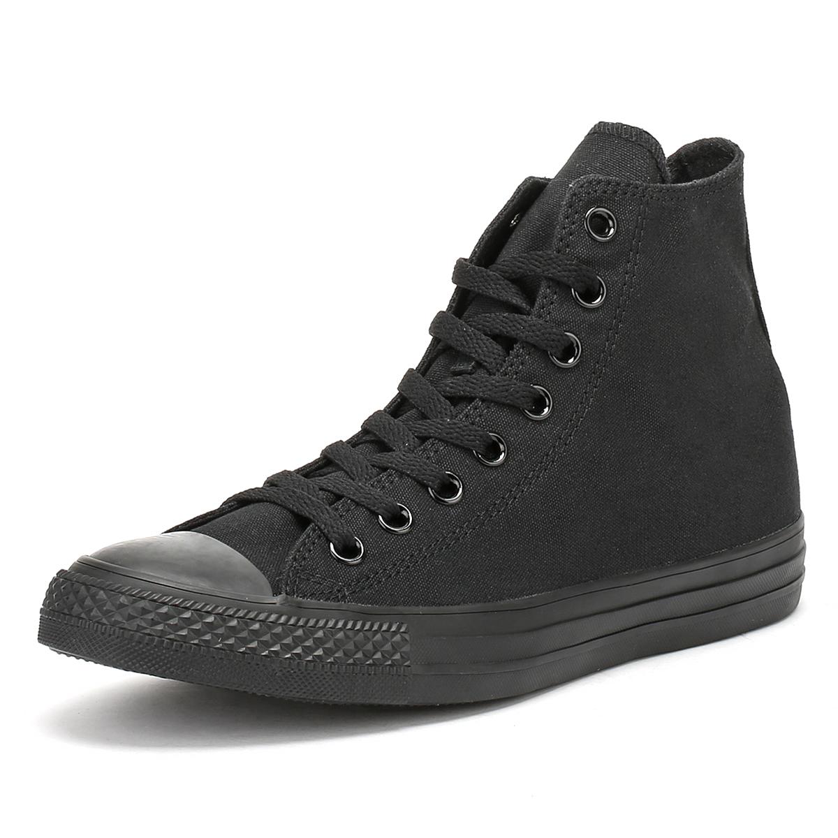 a966a6b55bb9 discount code for converse all star hi mono womens dfb56 f728d  ebay  converse black all star unisex trainers mens womens ece31 4641c