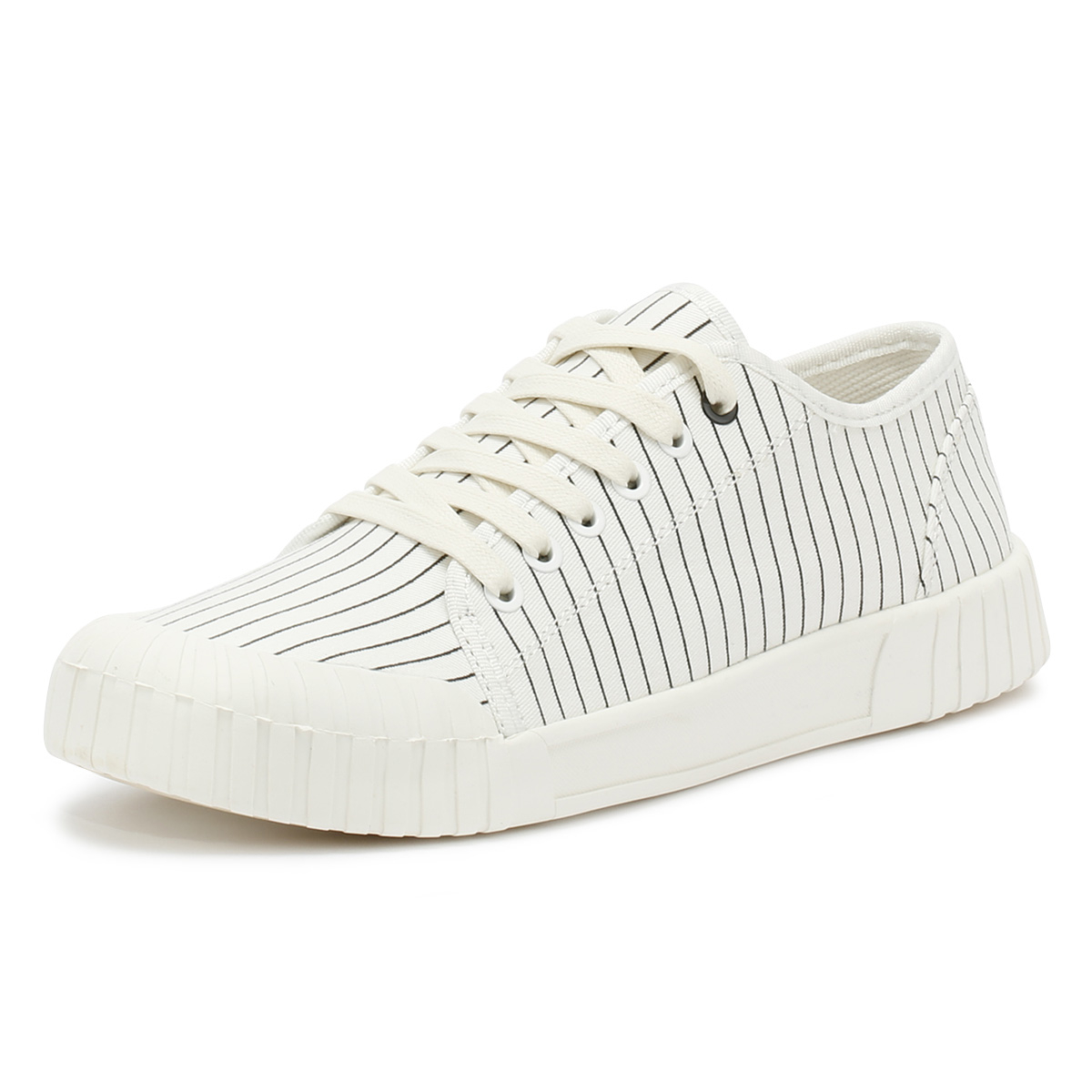 Good News News Good Unisex Trainers Weiß Hurler Niedrig Lace Up Sport Casual Schuhes ffc75b