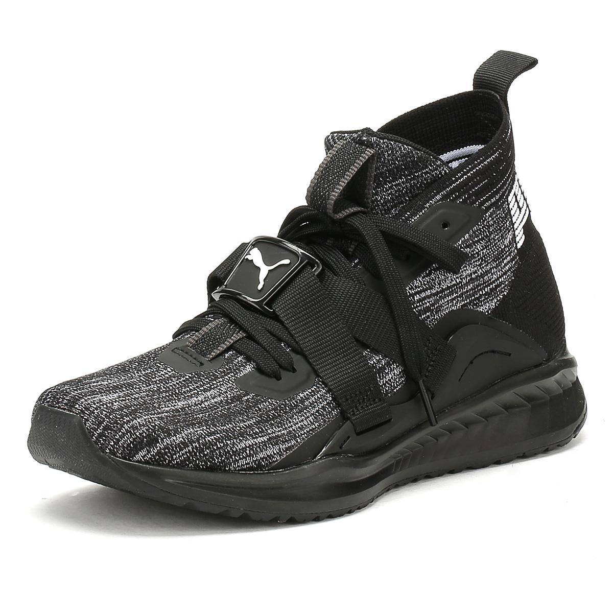 Puma Homme noir Chaussures Ignite evoknit 2 Baskets Chaussures noir De Loisirs Hi High Tops- 875359