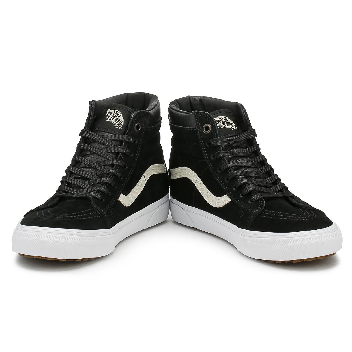 Vans Mens schwarz Night SK8-Hi MTE Skate Trainers Leder Lace Up Skate MTE Schuhes High Tops 17d025