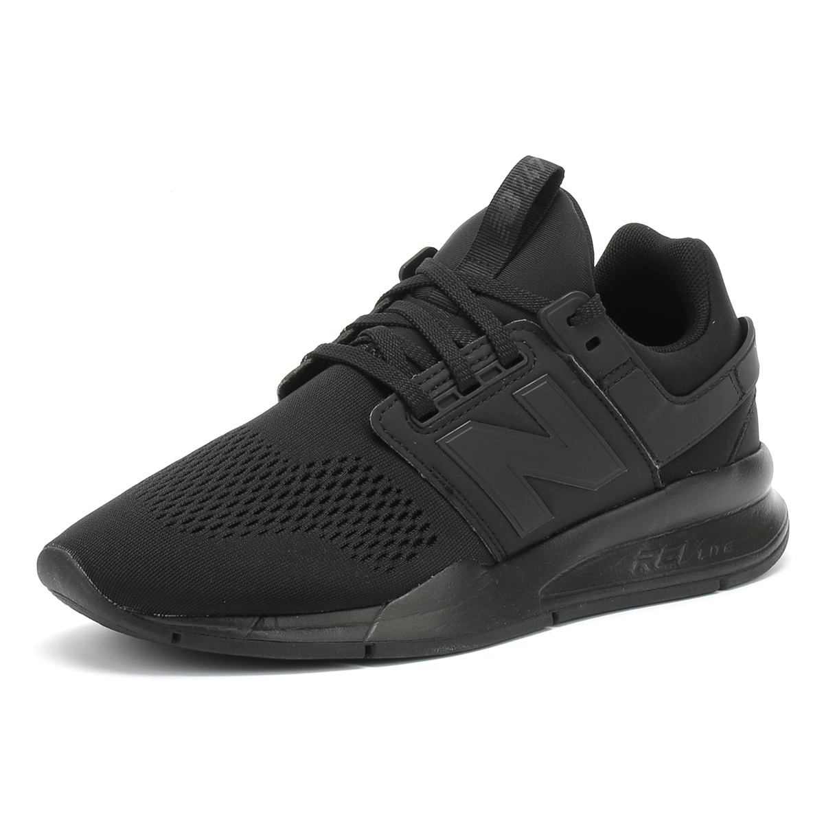 Dettagli su NEW Balance sneaker uomo 247 Black & Black Sport Casual Scarpe Da Corsa mostra il titolo originale