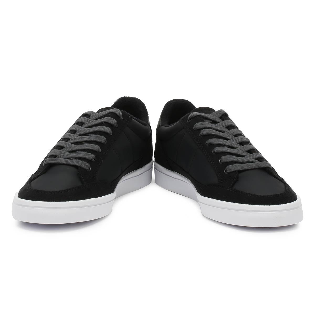 FRED Perry sneaker uomo nero nero nero Deuce winterised in Microfibra Sport Scarpe Casual b34499