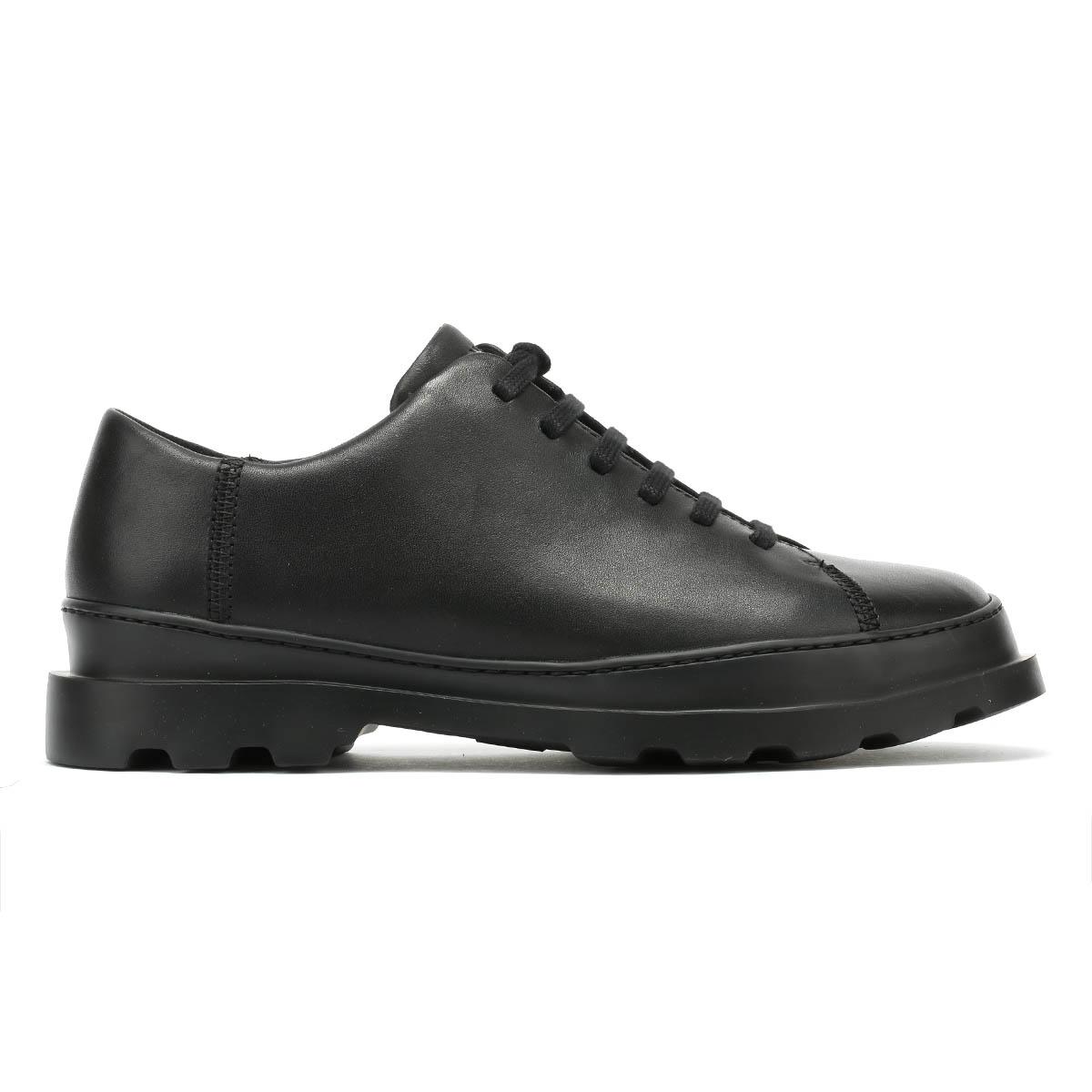Camper Brutus para Hombre Negro Zapatos Con Cordones Cuero Cuero Cuero Invierno Informales Caminar 0dabb0