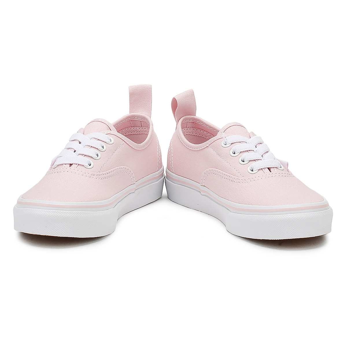 19f13f68326f Vans Kids Chalk Pink   True White Authentic Trainers Girls Skate Shoes