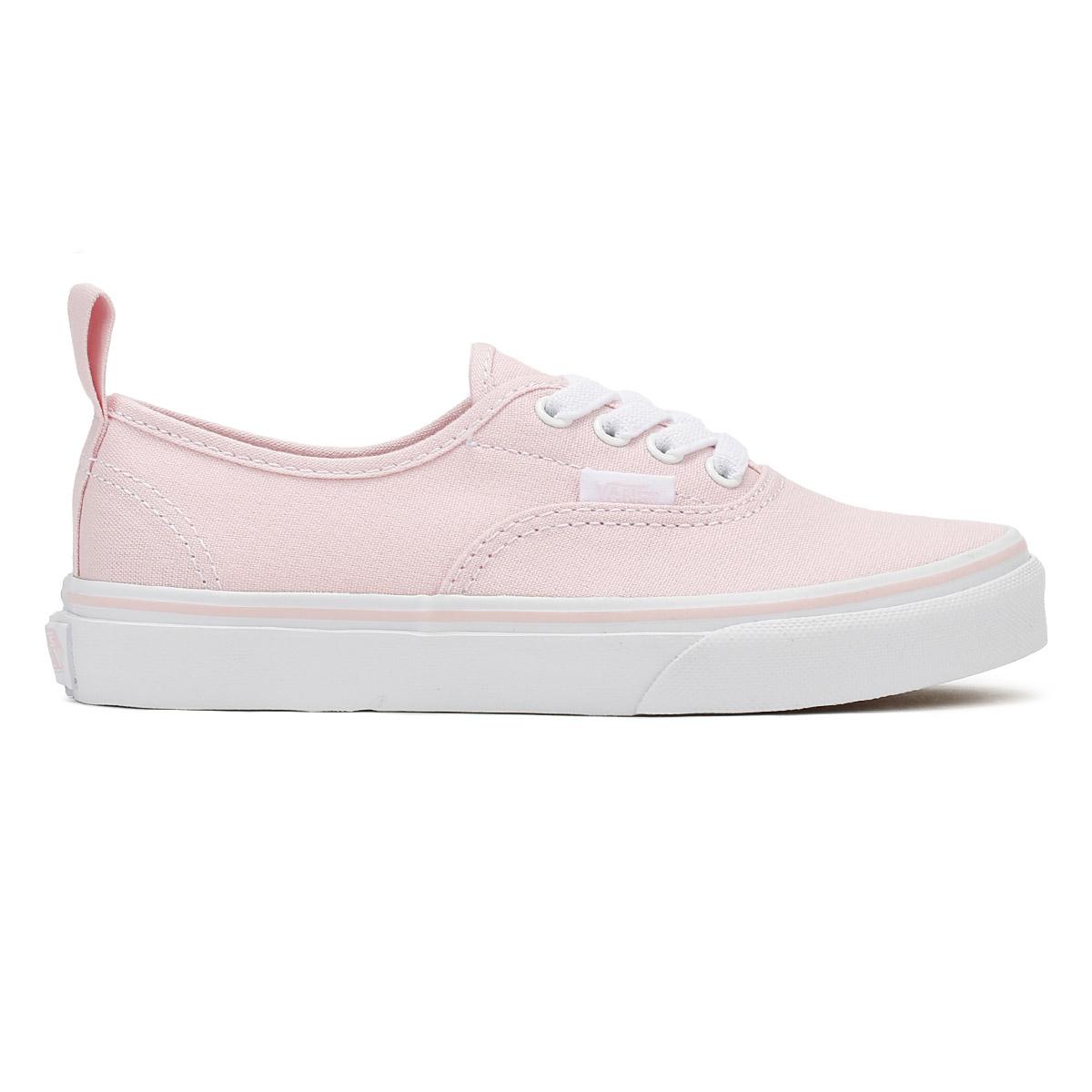 4388d6a94c4c87 Vans Kids Chalk Pink   True White Authentic Trainers Girls Skate Shoes