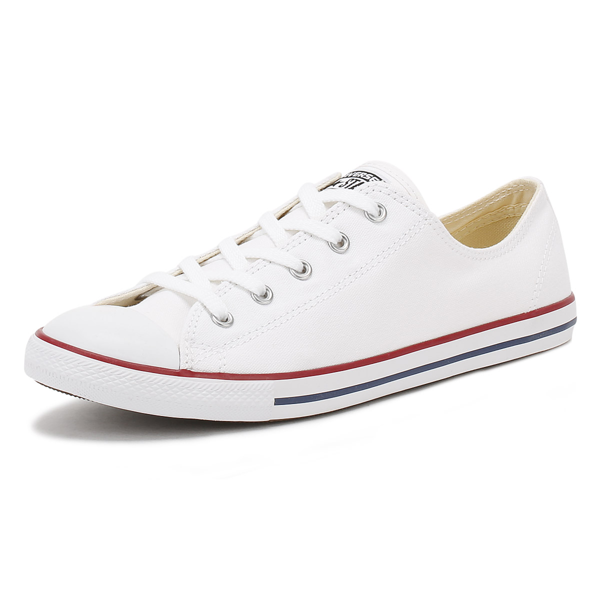 Converse Damenschuhe Trainers Chuck Taylor Sneakers Dainty Weiß Casual Schuhes Sneakers Taylor 8fda28