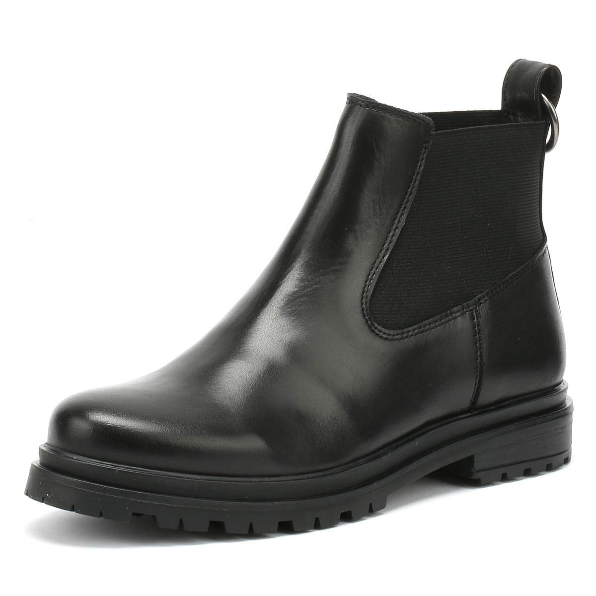 SHOE THE BEAR Akira Womens Boots Black Leather Slip On