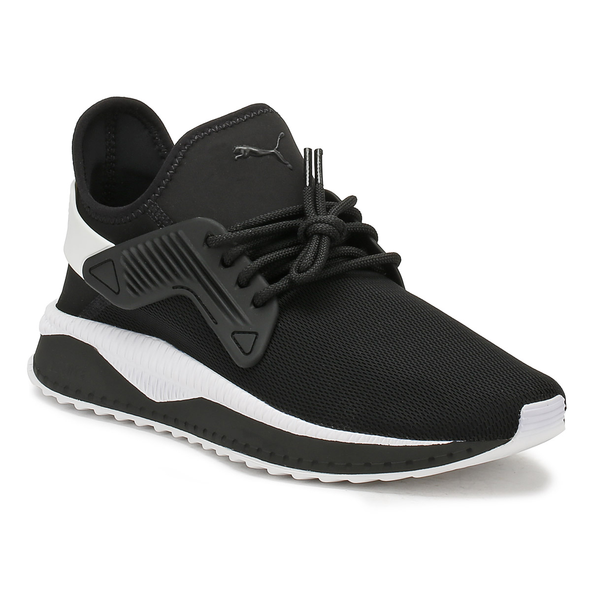 PUMA homme noir Up Tsugi Cage Trainers Lace Up noir Sport Casual chaussures f23fbb