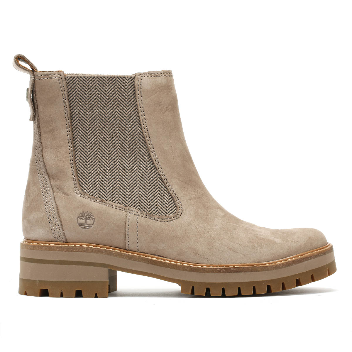 dcf2e9c4e8af4 Timberland Womens Boots Taupe Courmayeur Valley Chelsea Winter Ankle Shoes