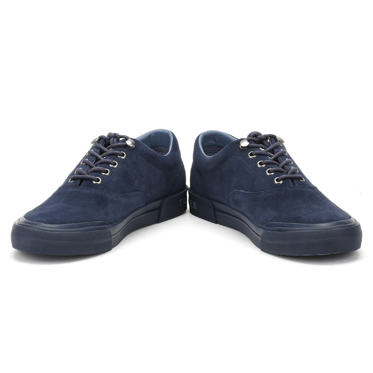 c16bfa126 Tommy Hilfiger Mens Navy Blue Suede Trainers Lace Up Sport Shoes  Y2285ARMOUTH