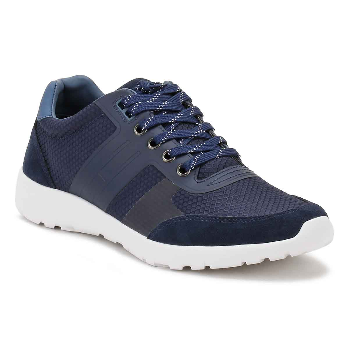 082bcca55 Tommy Hilfiger Mens Tommy Navy Blue Trainers Sport Casual Shoes ...