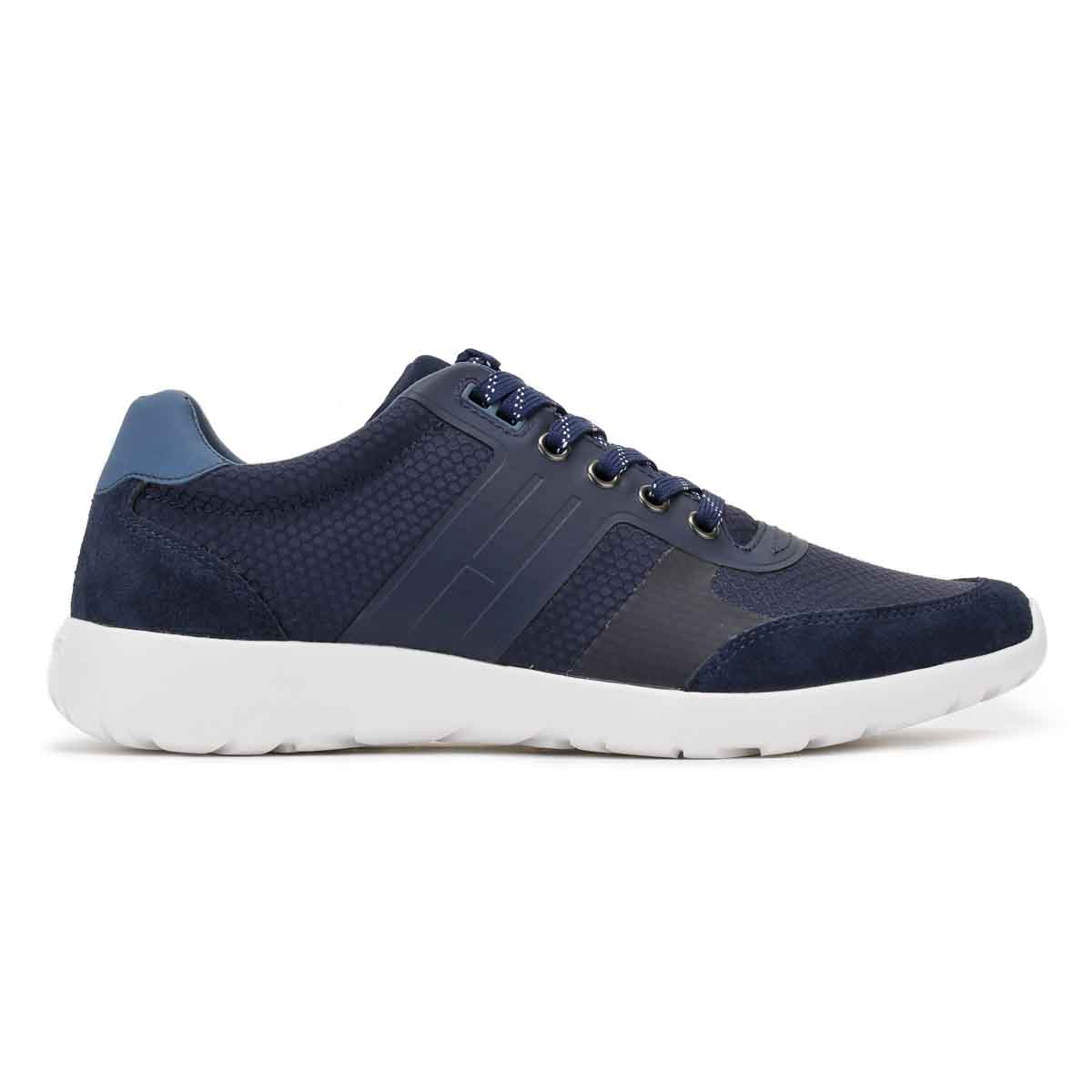 Tommy Hilfiger Mens Tommy Navy Blue Trainers Sport Casual Shoes F2285URLONG