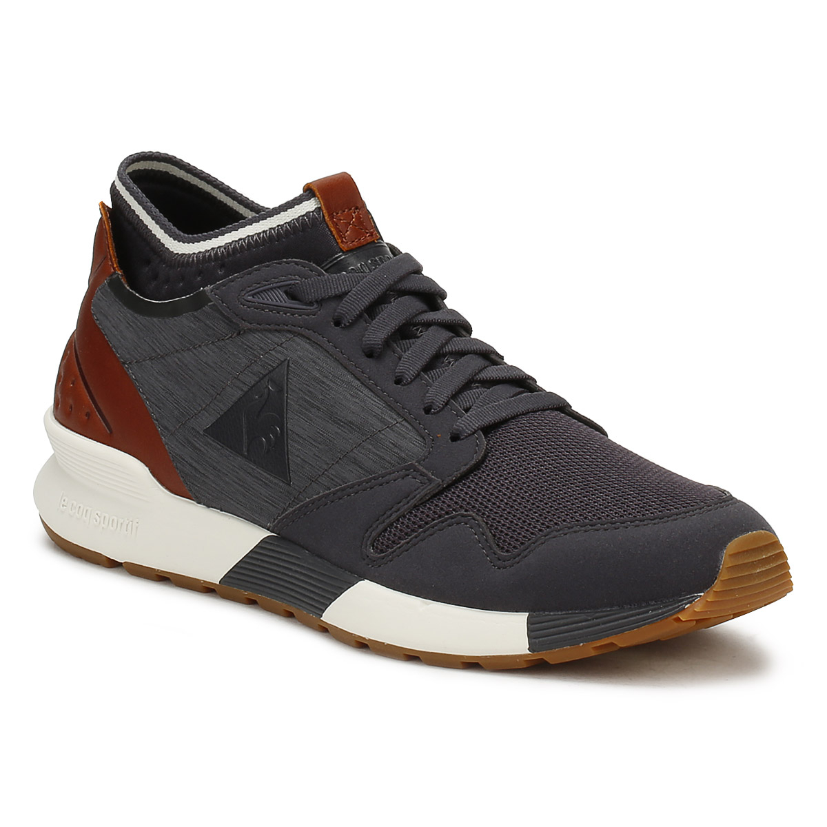 Mens Omicron Craft Bass Trainers, Grey Le Coq Sportif