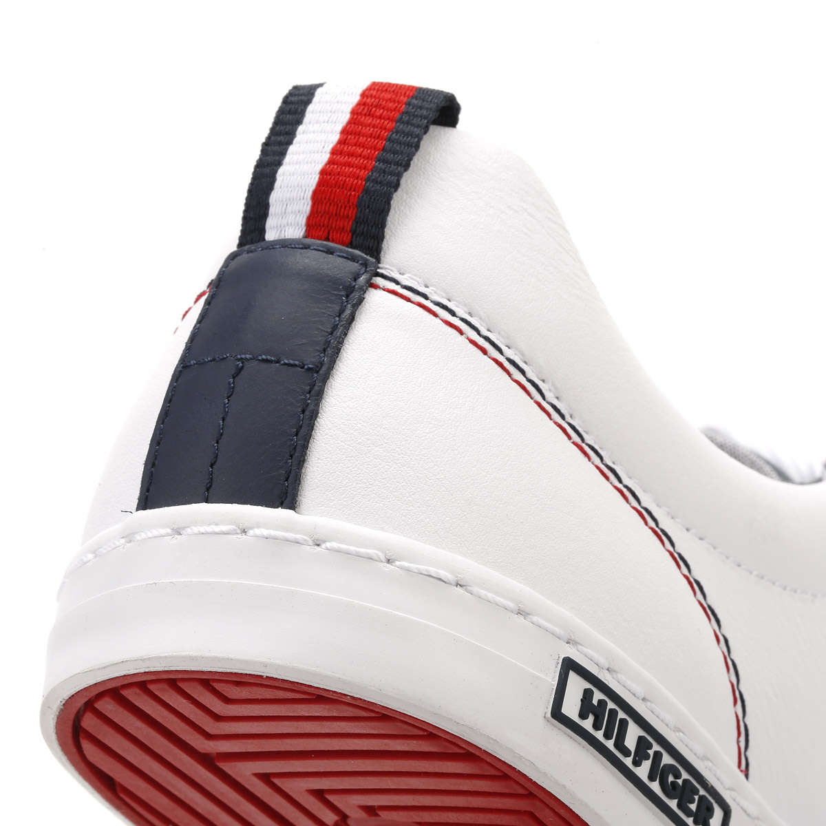 tommy hilfiger mens white trainers lace up sport casual. Black Bedroom Furniture Sets. Home Design Ideas