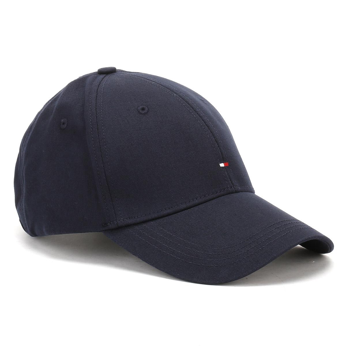 f1704a00 Tommy Hilfiger Womens Midnight Black Classic Baseball Cap, Ladies Hat