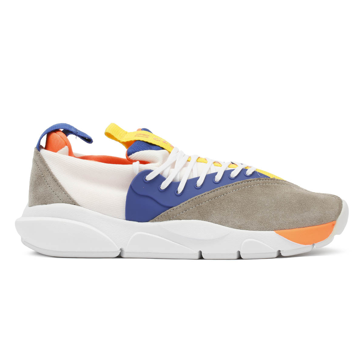 Clear Weather Cloud Stryk Banff White Unisex Trainers Sport Casual Shoes