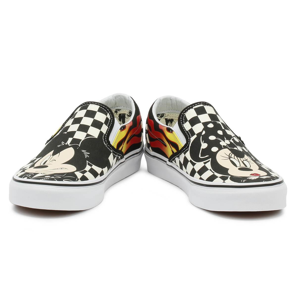Vans Disney Unisex Unisex Disney Trainers Mickey  Minnie Checker Flame Sport Skate Schuhes f8d775