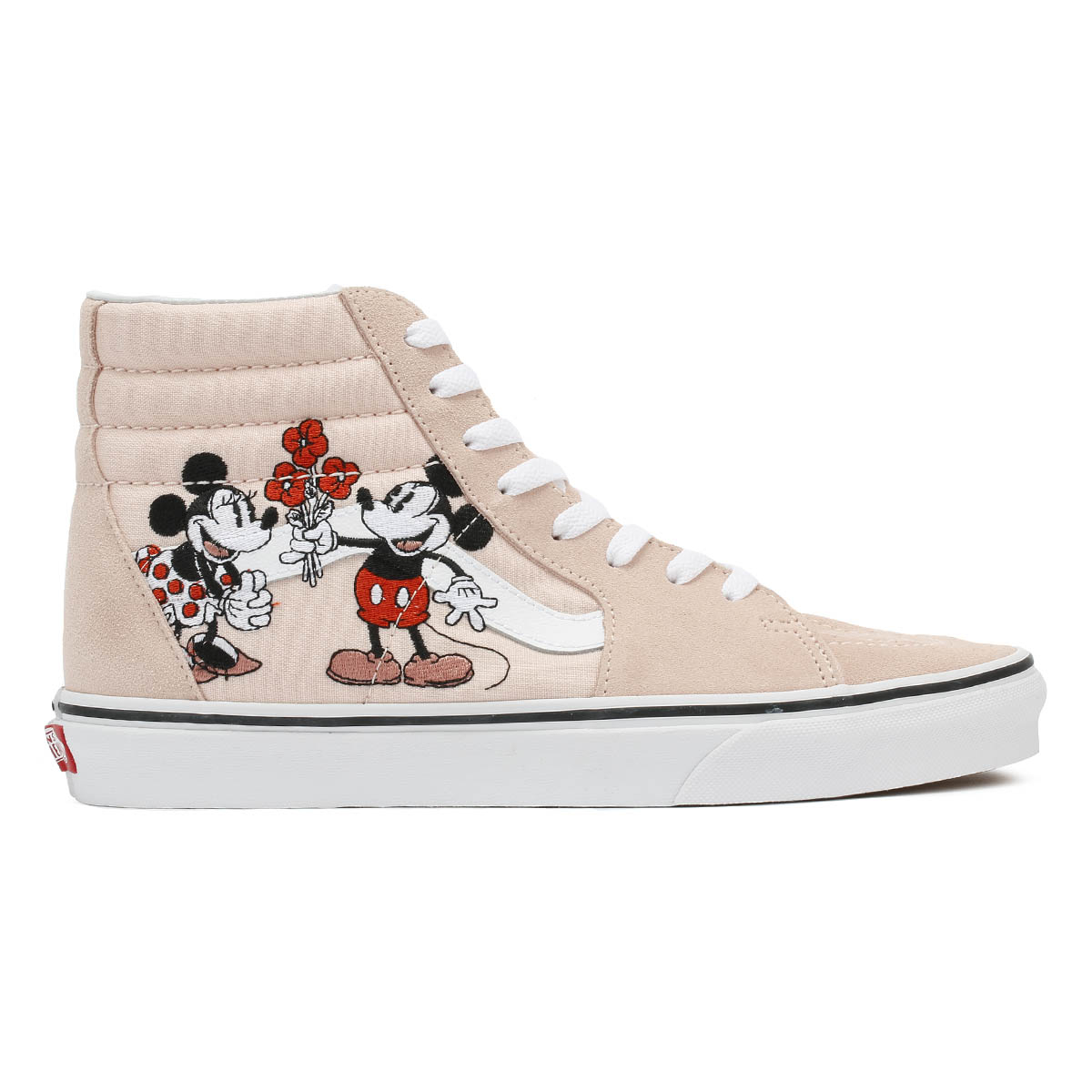 amp; Sk8 Skate Trainers Unisex Vans Pink Minnie Sport Mickey Disney Shoes hi Casual CqTgY
