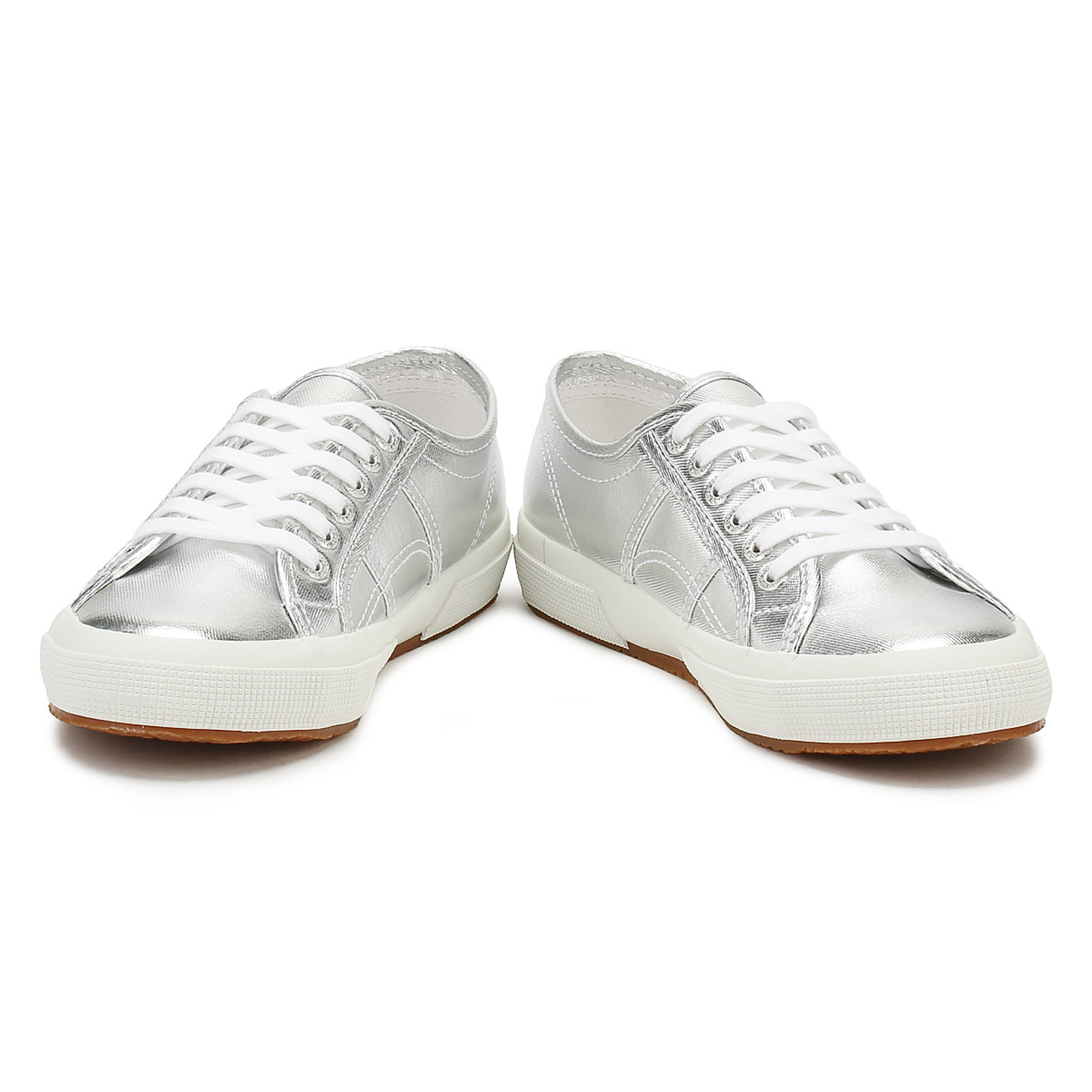 Superga Womens 2750 Trainers Grey Silver 2750 Womens Cotmetu Sport Casual Lace Up Shoes 3a450f