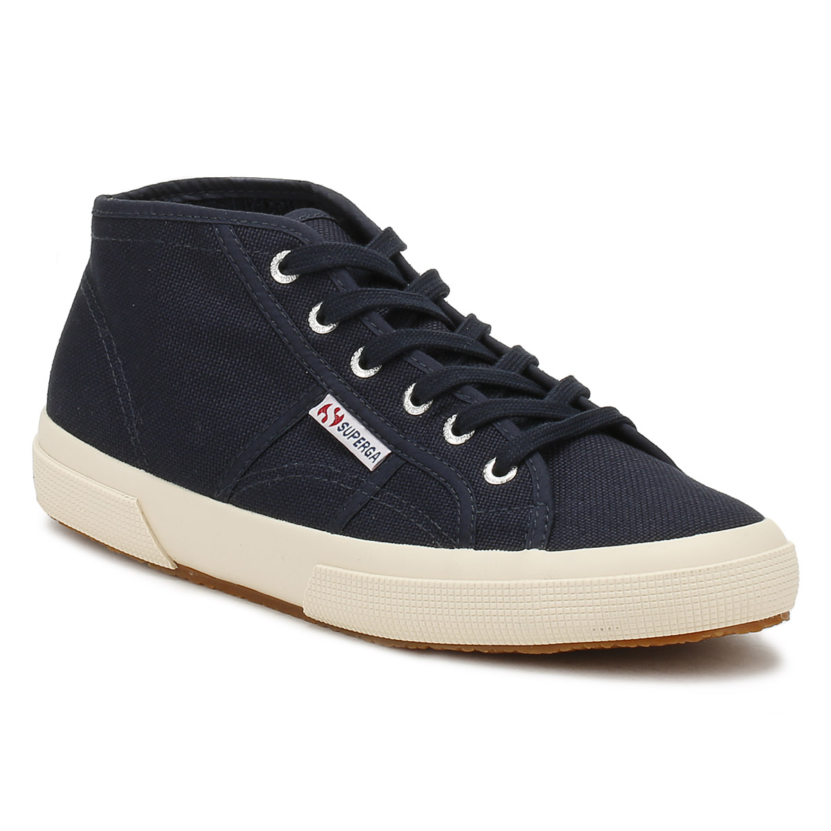 Superga Unisex Trainers Navy 2754 Up Cotu Sport Casual Lace Up 2754 hommes femmes Chaussures 4ff303
