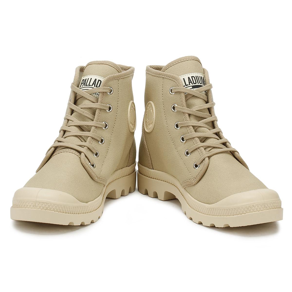 Palladium Hi Unisex Stiefel Sahara Ecru Originale Hi Palladium Tops Trainers Ankle Schuhes 6769a6