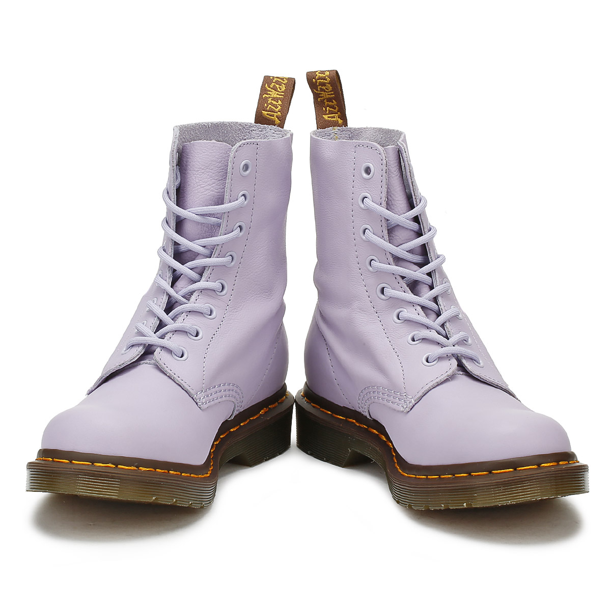 Dr-Martens-Womens-Pascal-Boots-Purple-Heather-Leather-Lace-Up-Ankle-Shoes