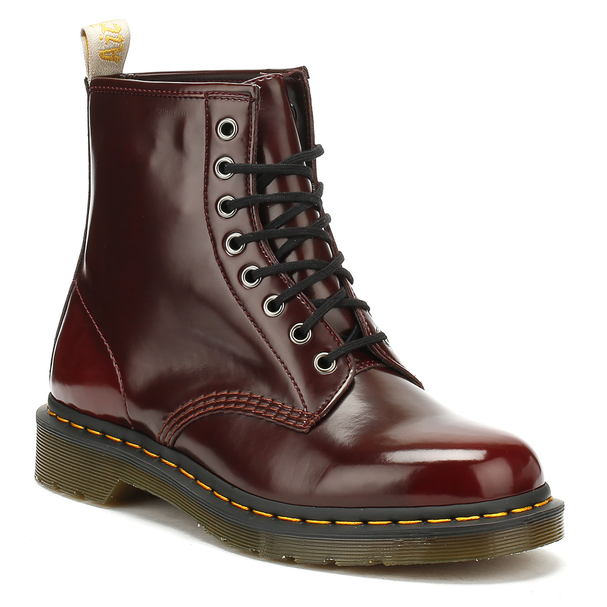 Dr. Martens Up Unisex Stiefel Cherry ROT Vegan 1460 Lace Up Martens Winter Ankle Schuhes a408b4