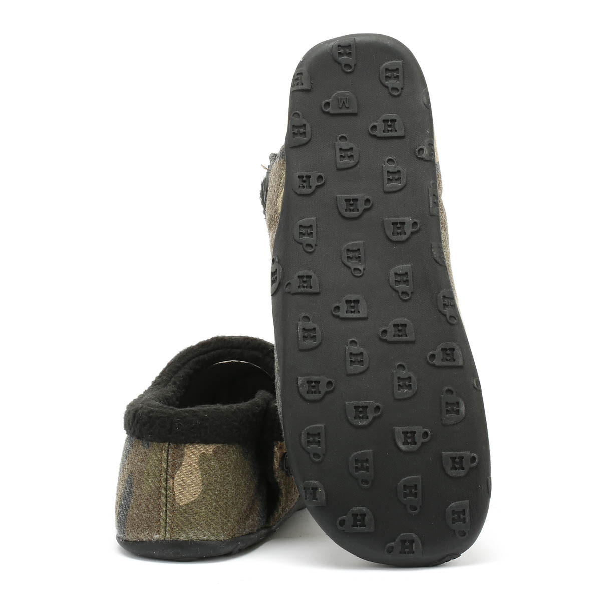 ef39bcd91 Homeys Tommy Mens Camo Slippers Home Shoes