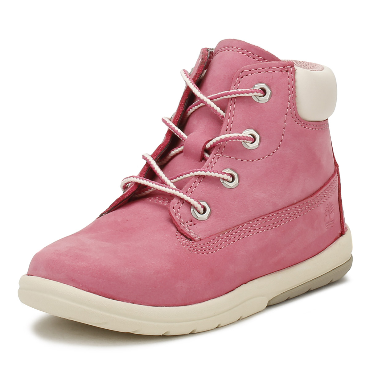Details about Timberland Toddlers 6 Inch Boots Fuchsia Pink Toddle Tracks  Kids Leather Shoes 6a5173d8a