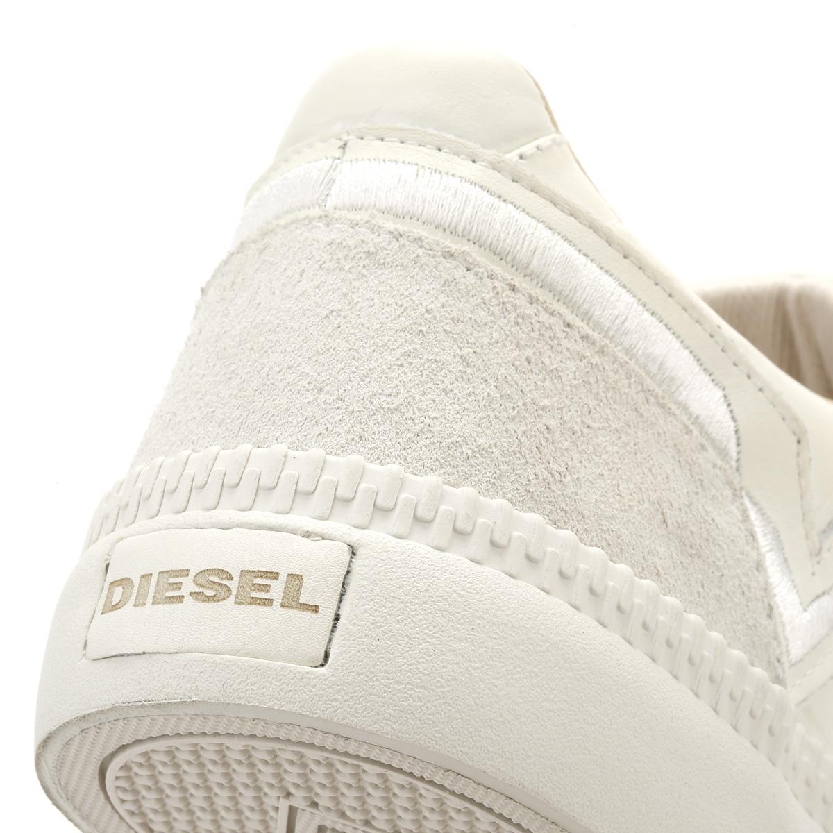 Da Diesel Uomo Bianco Ghiaccio Diesel Da S-Spaark Basso Scarpe Da Ginnastica Con Lacci Sport Scarpe Casual 833244