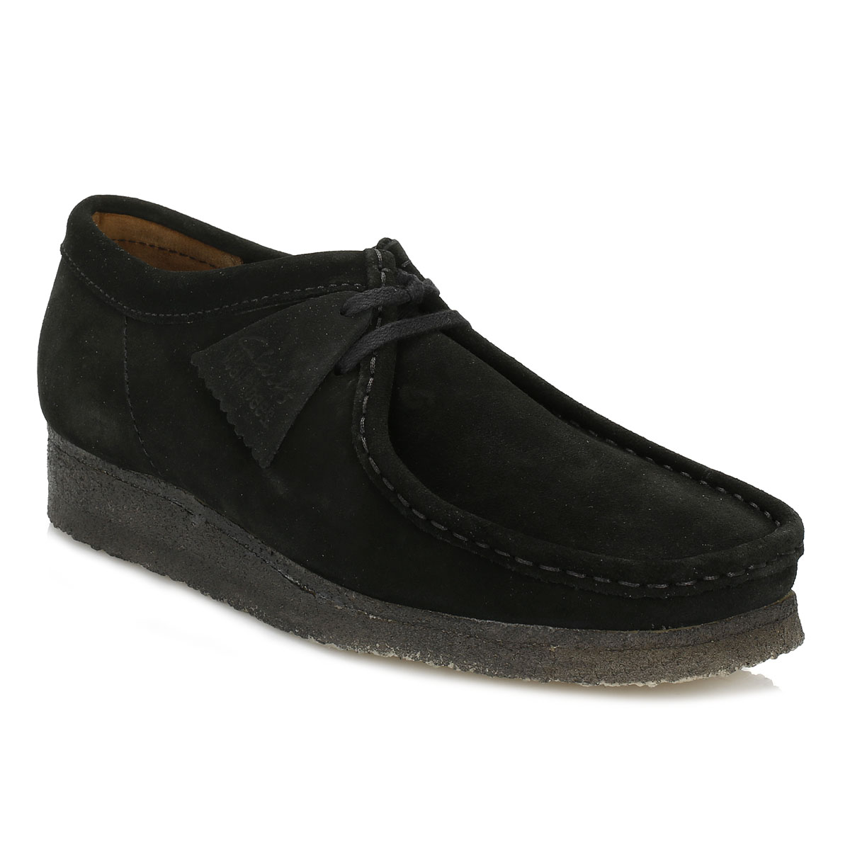 cheap sale sast Clarks Originals Wallabee Lace Up Shoes In Black Suede outlet limited edition free shipping ebay buy cheap under $60 RM7CuC9DUP