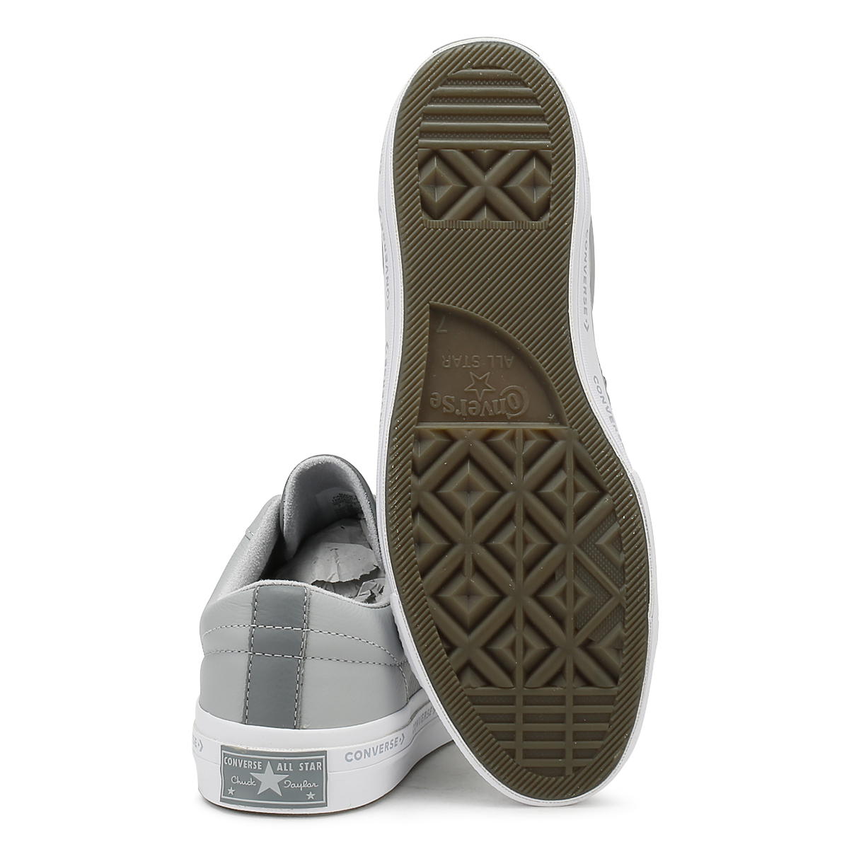 scarpe converse gessate