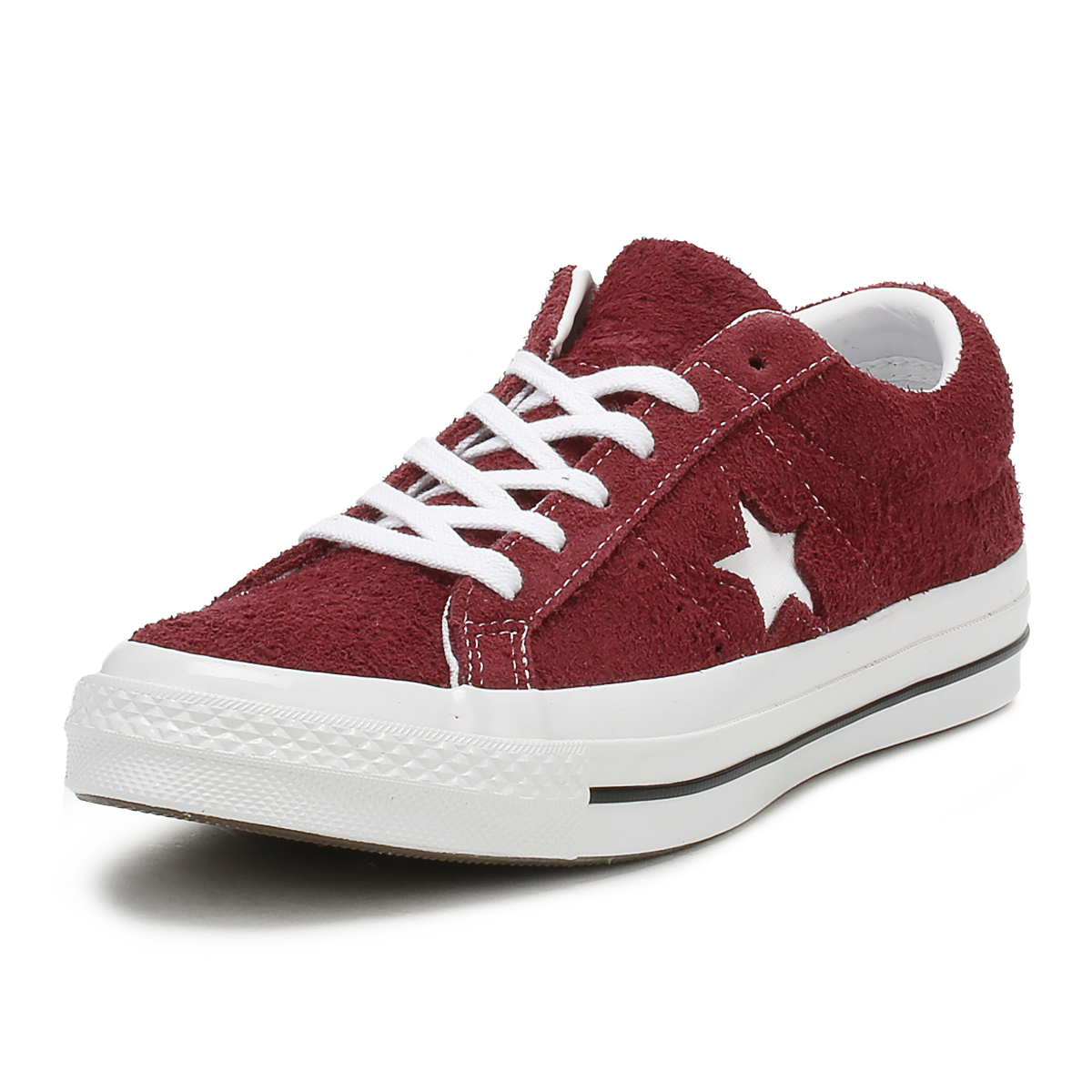 Converse One Star Ox Uomo Red White Scarpe da Ginnastica 11 UK