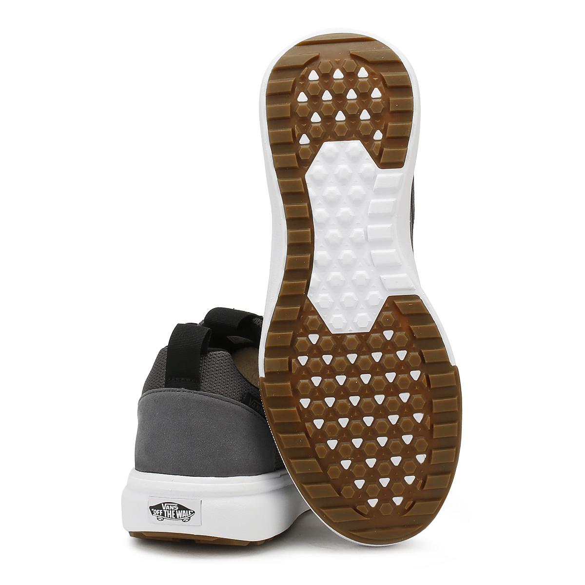 Vans Lace Mens Ultrarange Trainers Asphalt Grey Lace Vans Up Sport Running Shoes 36a607